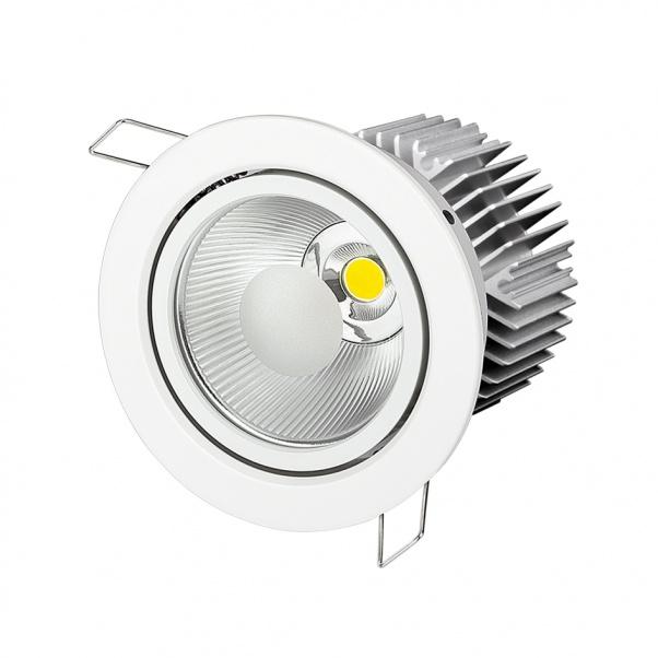 COB вниз света, COB потолочный светильник, COB свет, COB вниз огней, COB Светодиодный точечный светильник