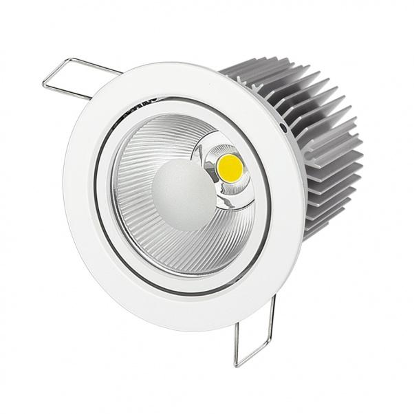 COB Светодиодный точечный светильник, COB привело светила, COB вниз света производитель, COB вниз света завод, COB потолочный светильник